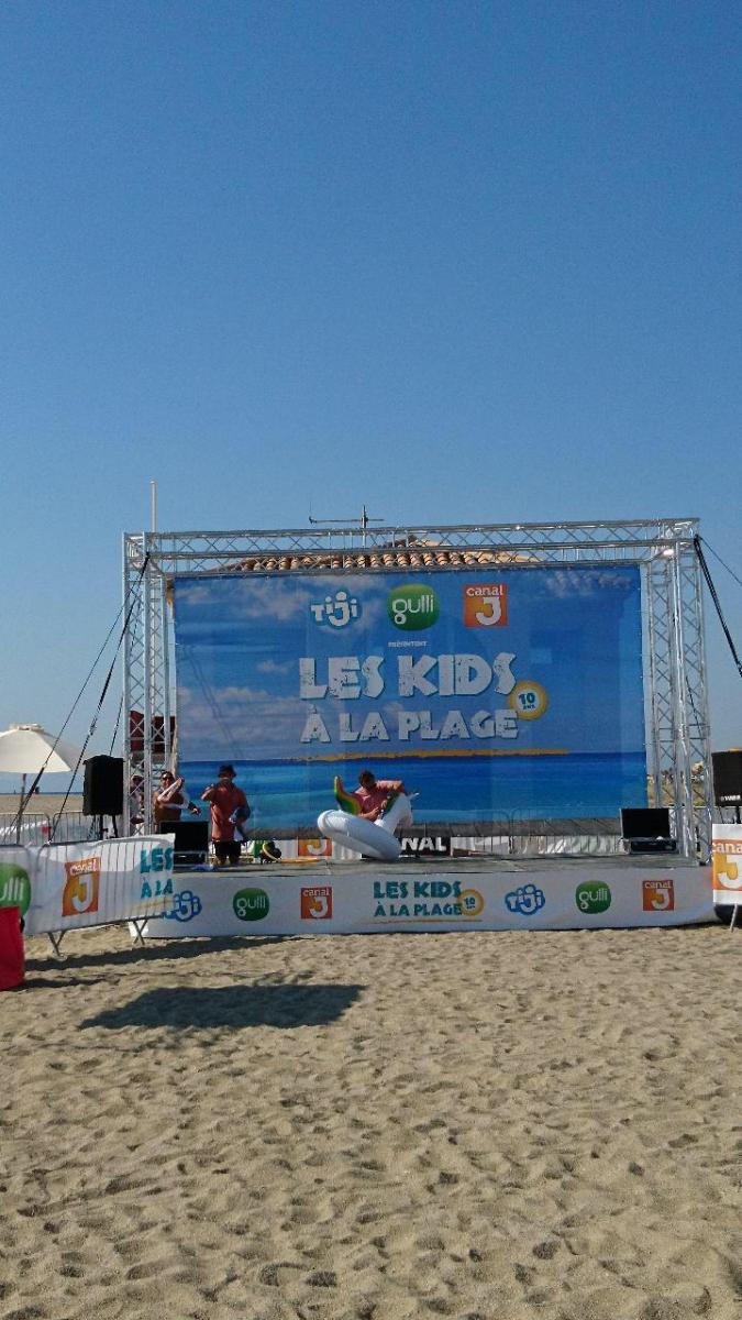 Kallys Mashup kids a la plage 1