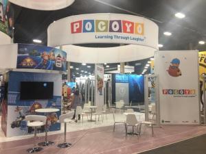 Pocoyo licencing show las vegas